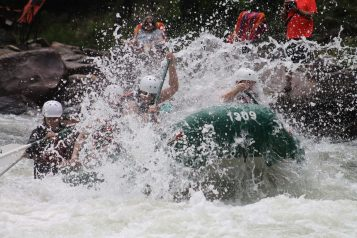 Teamwork - River Rafting