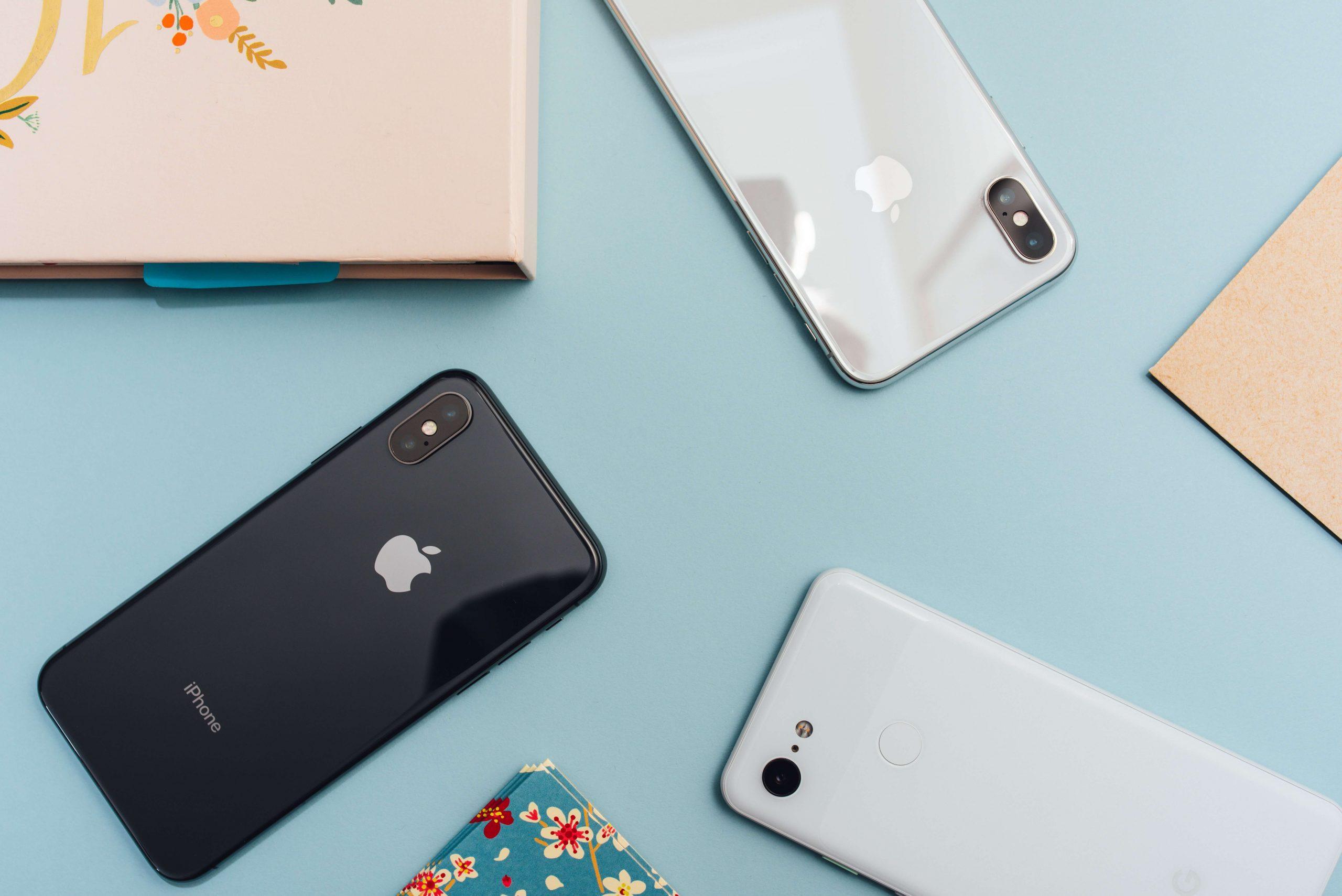 IPhones - Mobile Phone Website Design