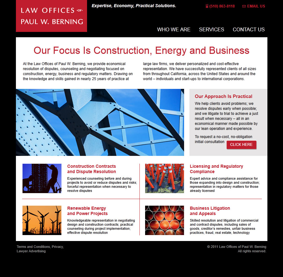 Paul Berning Website Launched By MJS Web Solutions