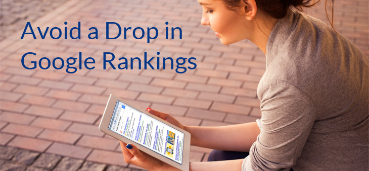 Go Mobile And Avoid A Drop In Google Rankings