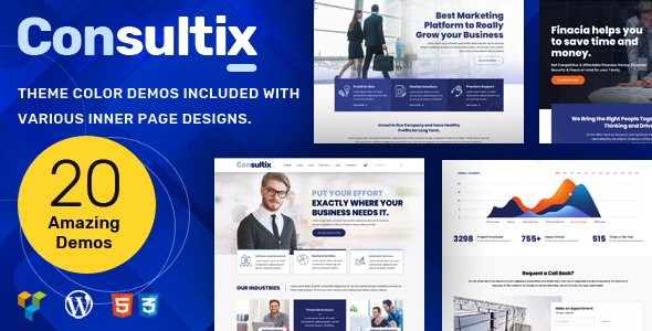 Consultix Consulting - Business Consulting Theme
