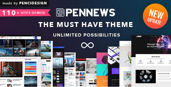 PenNews - News & Magazine AMP WordPress Theme