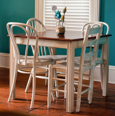 Small White Dining Room Table
