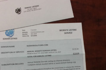 Website Listing Service Scam Featured Image