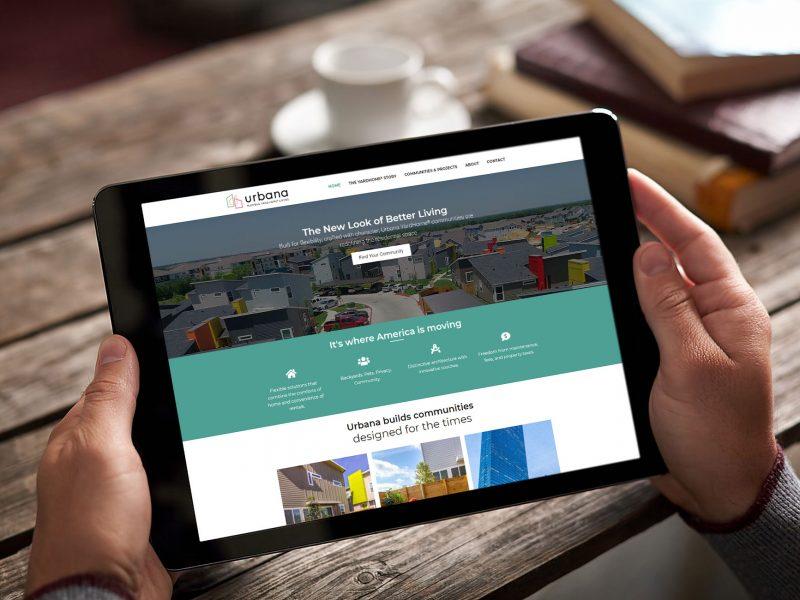Urbana Yardhomes Website Design Featured